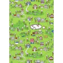 Mini Village Design C7938 Green