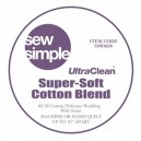 Sew Simple Super Soft 80% Cotton 20% Polyester Wadding
