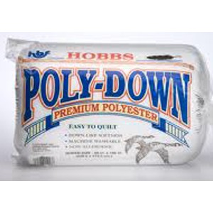 Polydown Polyester Wadding