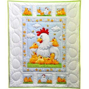 Pippa The Hen  Quilt Kit