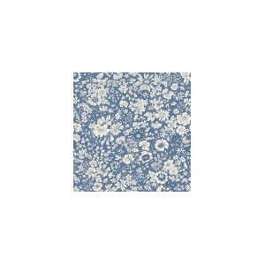 Liberty English Garden Emily Silhouette Blue 604Z