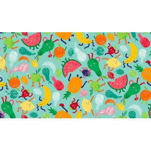 Fruity Friends  scatter blue 1940/B