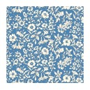 Liberty Cottage Garden Morning Dew Dark Blue 609Z