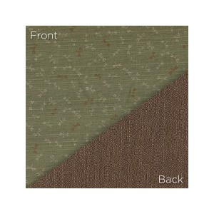 Sevenberry Double Sided Fabric 88235 D2-3 Lt Green/Brown