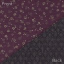 Sevenberry Double Sided Fabric 88235 D1-5 Purple/Blue