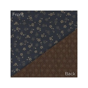 Sevenberry Double Sided Fabric 88235 D1-6 Blue/Brown
