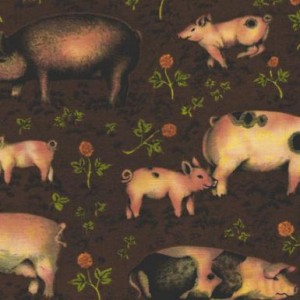 Buttercup Farm Pigs 353/V Brown