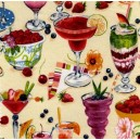 Fruit & Ice Border Print 360